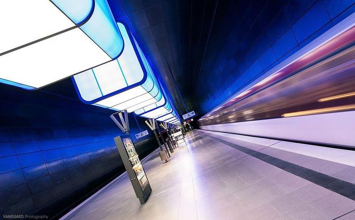 جاذبه های سایر کشورها گردشگری  , طراحی های چشم نواز در متروی استکهلم