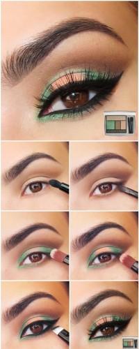 آرایش صورت آرایش و زیبایی  , آموزش تصویری آرایش چشم