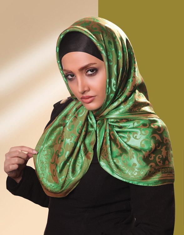 مدل روسری مجلسی , مدل شال مجلسی
