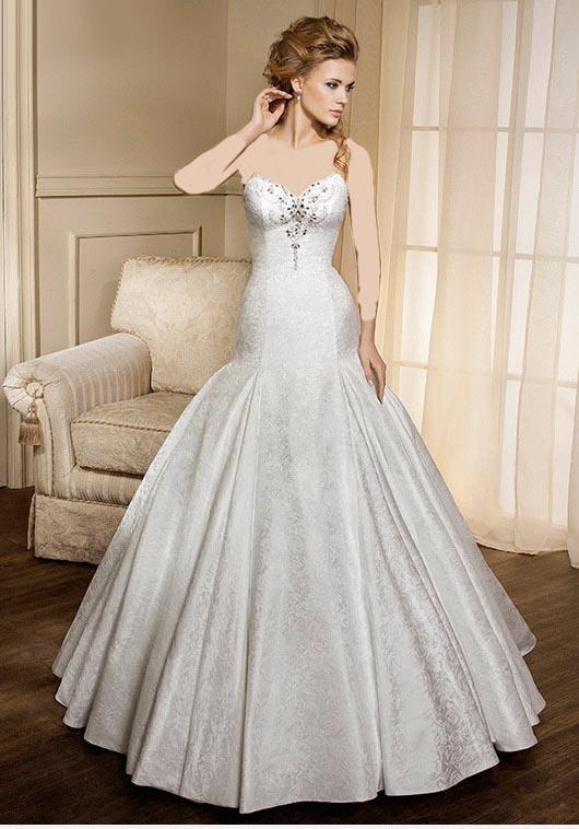 مدل لباس عروس و زیورآلات  , مدل های جدید و زیبای لباس عروس