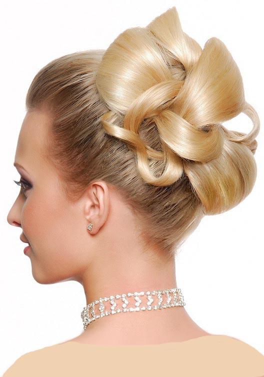 جدیدترین مدل های شینیون موی عروس