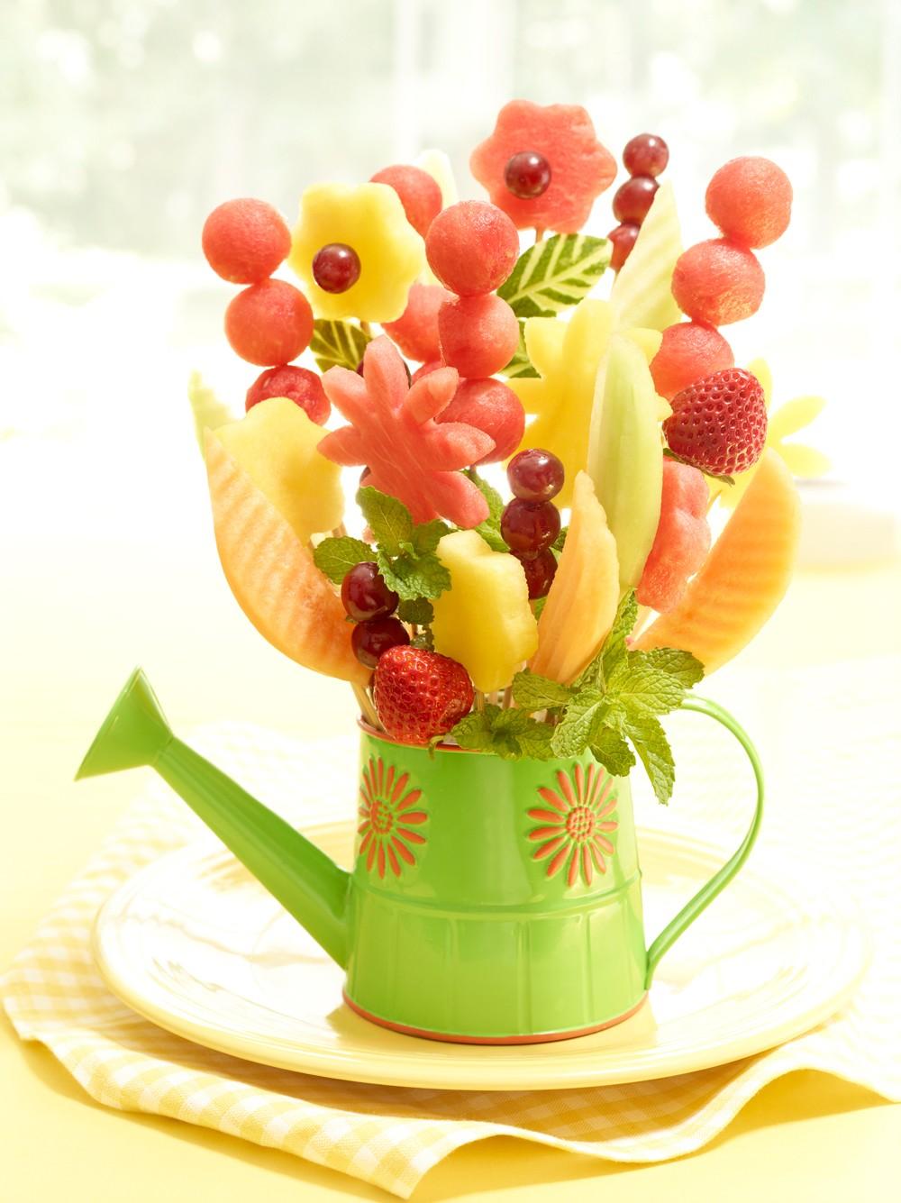 میوه آرایی شب یلدا - تزیین هندوانه