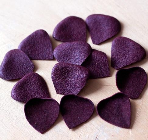 آموزش تصویری ساخت گل با چرم - آموزش گلسازی - درست کردن گل های چرمی