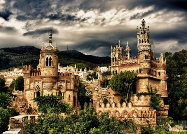 06 Colomares Castle, Spain