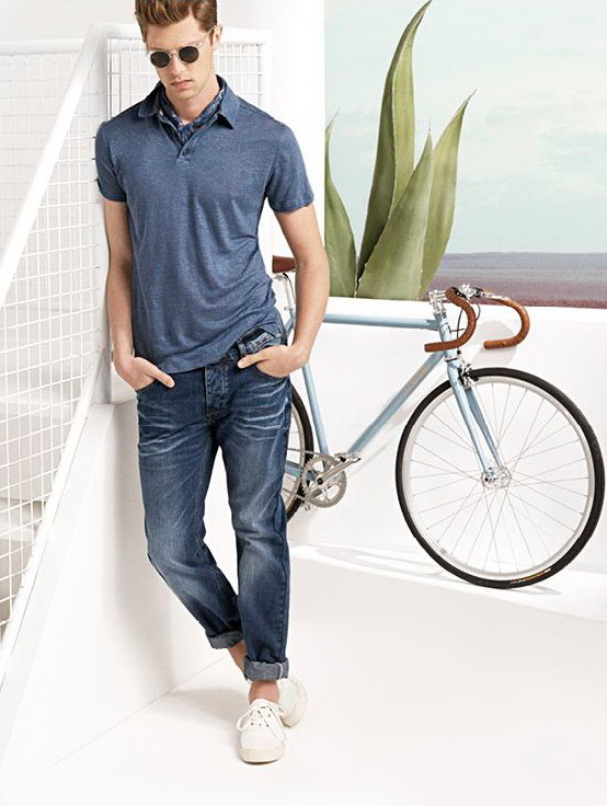 مدل لباس اسپرت مردانه Mango