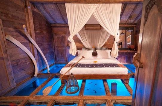 فضاهای شگفت انگیز در زیر آب - هتل زیر آب