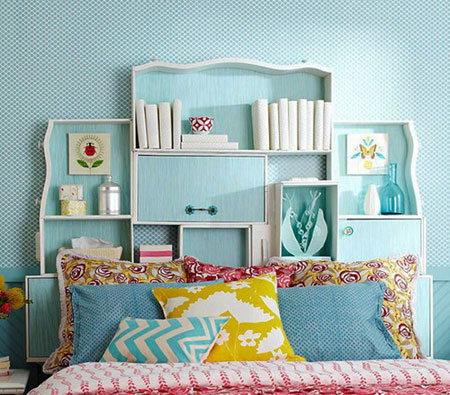 خانه و خانواده دکوراسیون  , طراحی های جالب بالای تخت خواب