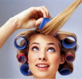 آرایش و زیبایی مدل و آرایش مو  , آموزش پیچیدن مو با بیگودی