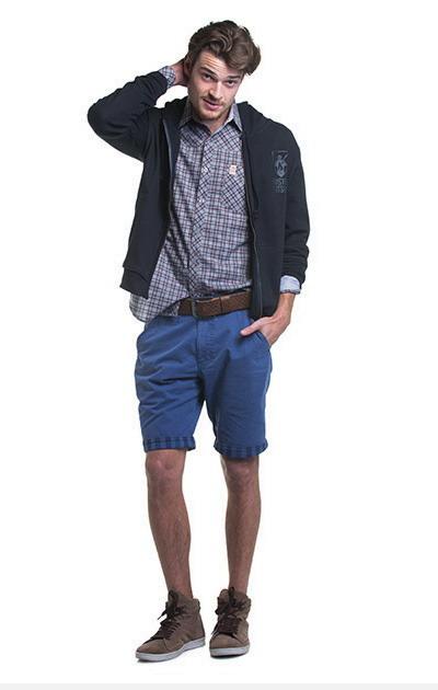 مدل سویشرت مردانه - شلوارک جین مردانه