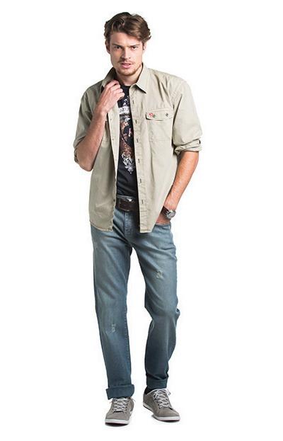 مدل لباس اسپرت مردانه - شلوار جین مردانه