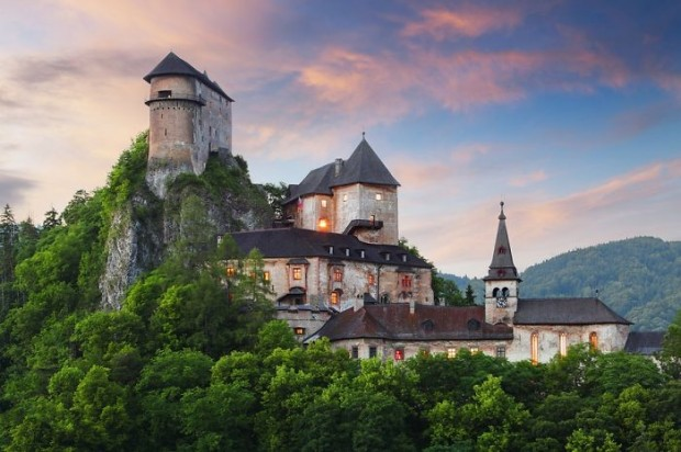 23 Orava Castle, Slovakia