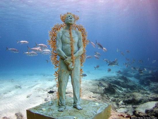 جاذبه های سایر کشورها گردشگری  , موزه زیر آب Embodies Hope