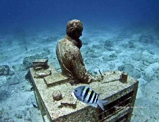 موزه Embodies Hope ,مظهر امید ,بزرگترین موزه جهان در زیر آب