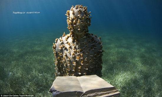بزرگترین موزه زیر آب جهان +عکس