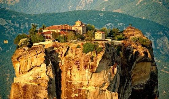 متیئورا ،بهشت های آسمانی یونان +عکس