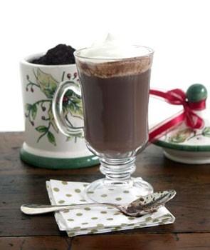 شکلات گرم وانیلی