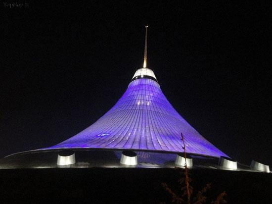 خان شاتر، بزرگترین چادر دنیا در قزاقستان +عکس