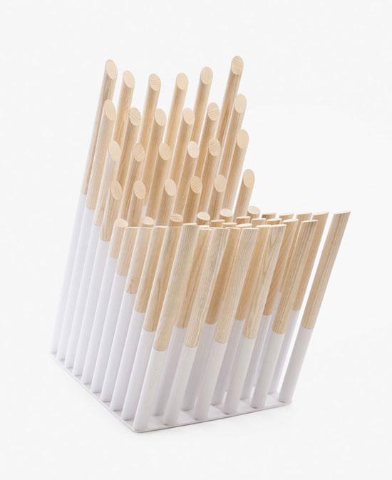 صندلیهایی که به شکلی هنرمندانه طراحی شدهاند