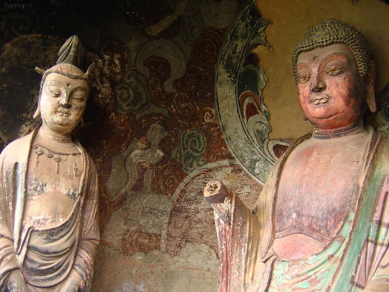معماری دیدنی معبد بوداییان در چین +عکس
