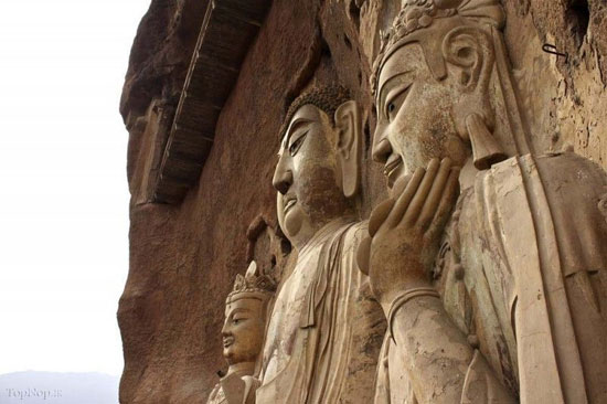 جاذبه های سایر کشورها گردشگری  , معبد دیدنی بوداییان در چین