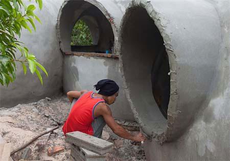 ساخت خانه رویاها در 6 هفته + تصاویر