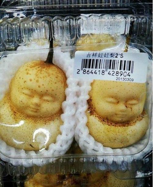 گلابی عروسکی در چین +عکس