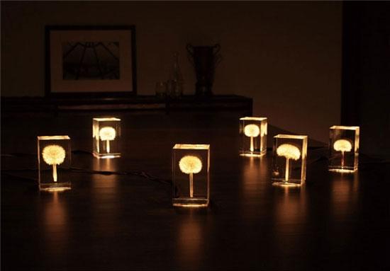 چراغهایی با طراحی خاص +تصاویر