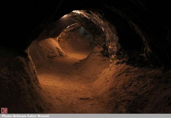 کرفتو، غار شگفتانگیز کردستان (عکس)