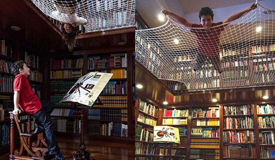 کتابخانه و کتابخوانی به شیوهای نوین