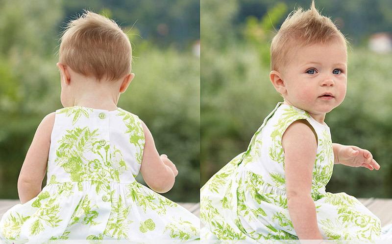 مدل پیراهن دخترانه - مدل لباس بچگانه
