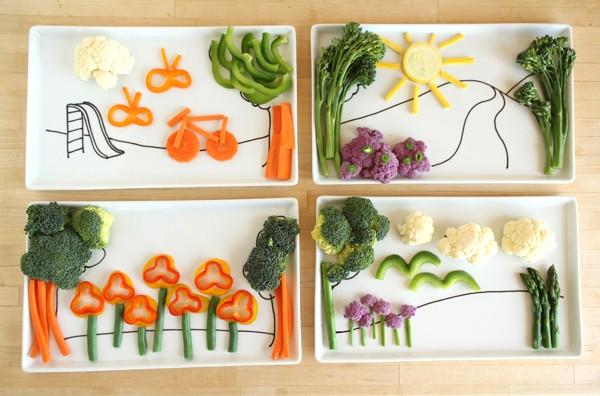 20 نمونه تزئین غذا برای کودکان