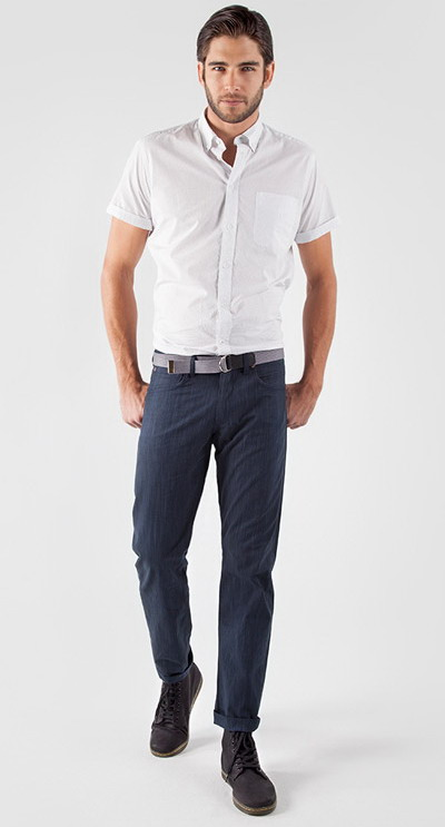 مدل لباس مردانه اسپرت استین کوتاه