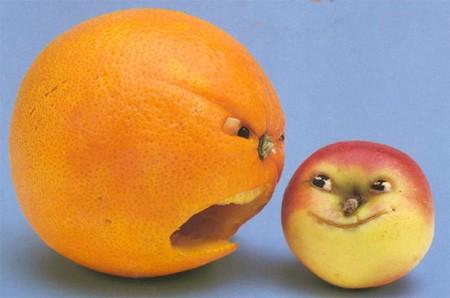 چند نمونه تزئین پرتقال
