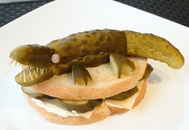 ایده هایی برای تزئین ساندویچ برای بچه ها
