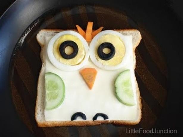 سفره آرایی  , ایده های جالب برای تزئین ساندویچ بچه ها
