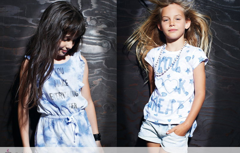 مدل تیشرت دخترانه - مدل لباس بچه گانه