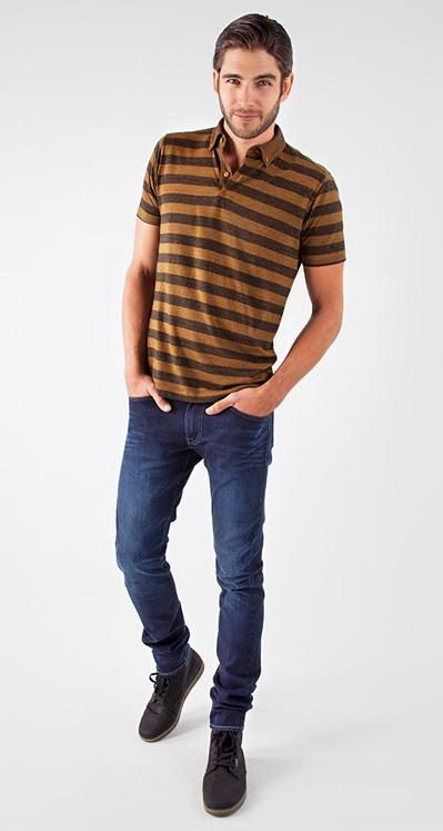 مدل تی شرت اسپرت مردانه راه راه