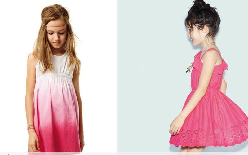 مدل پیراهن دخترانه - مدل لباس بچه گانه