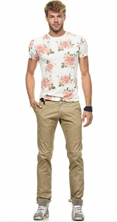 مدل تیشرت پسرانه - مدل شلوار کتان مردانه