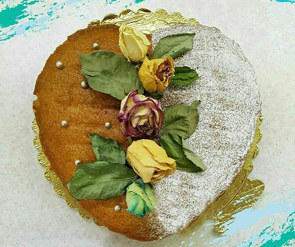 کیک بدون تخم مرغ