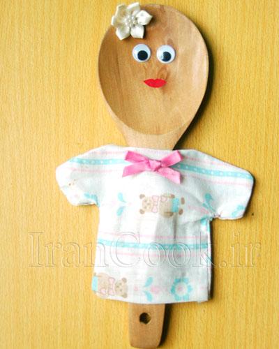 آموزش ساخت عروسک چوبی - عروسک سازی