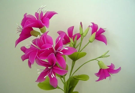 آموزش هنرهای دستی  , آموزش تصویری ساخت گل جورابی