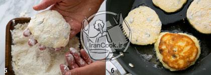 پن کیک کشمشی