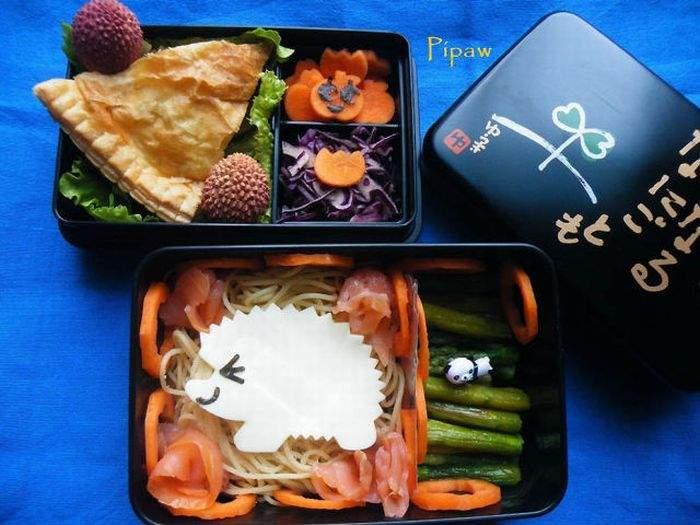 عکسهایی از غذاهای جالب و خوشمزه ژاپنی