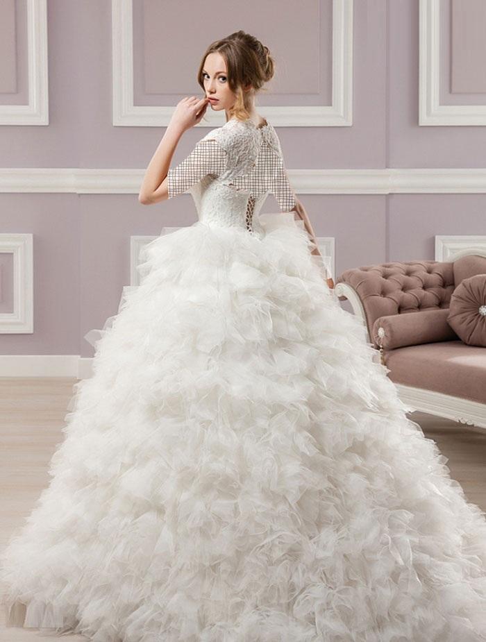 مدل لباس عروس و زیورآلات نو عروس  , جدیدترین مدل های لباس عروس 2014