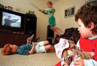 خشونت-رسانه-کودکان-محیط