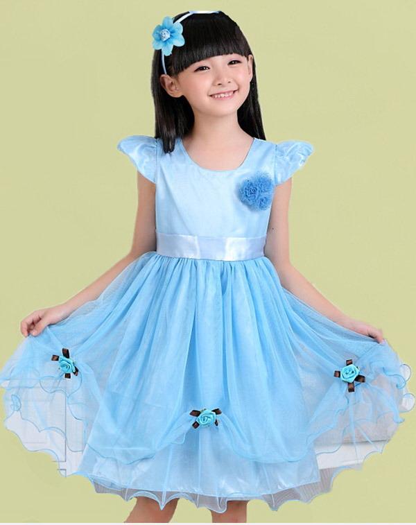 پیراهن دخترانه مجلسی - مدل لباس مجلسی بچگانه