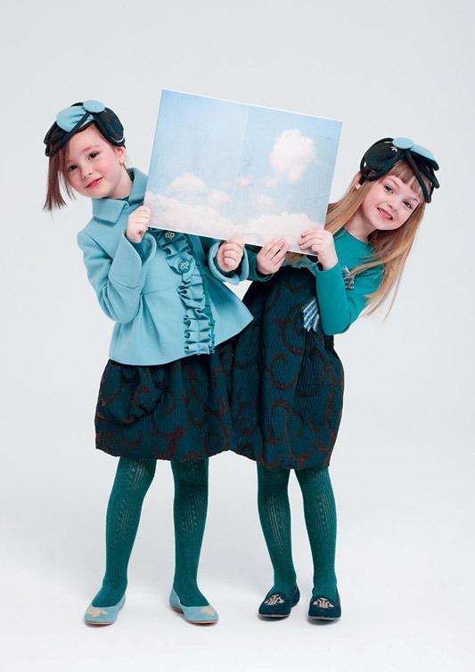 مدل پیراهن پاییزی دخترانه - کت و دامن پاییزی دخترانه