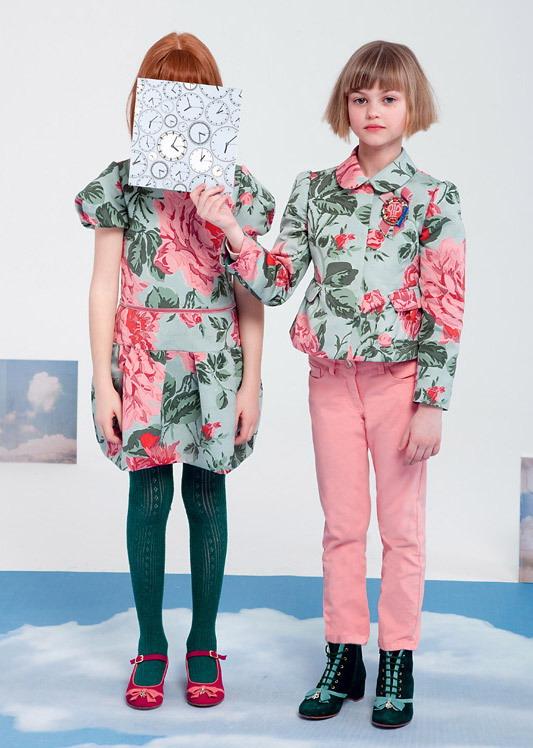 مدل لباس بچگانه پائیزی - مدل پیراهن دخترانه - کت و شلوار دخترانه