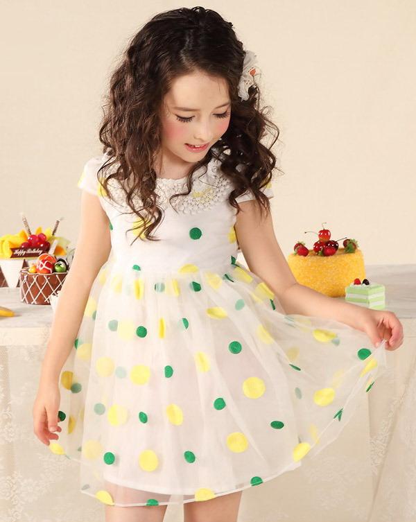 لباس بچگانه مدل لباس,کیف,کفش,جواهرات  , پیراهن مجلسی دخترانه برند Yuzhouxiong